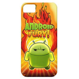Android fury iPhone 5 fundas