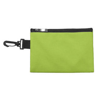 Android Green Background Accessory Bag