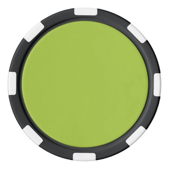 Android Green Background Poker Chip Set