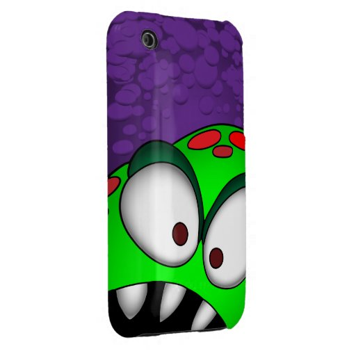 ANDROID green monster case iPhone 3 Case-Mate Case