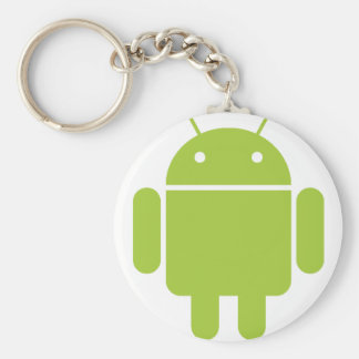 Android Green Robot Logo Keychain