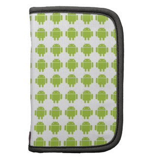 Android Green Robot Logo Folio Planners