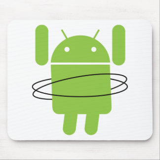 Android Hula Hoop Mouse Pad