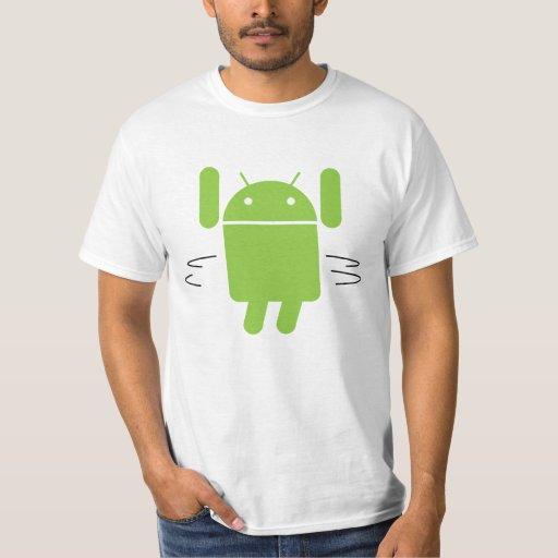 Android hula hoop t shirt
