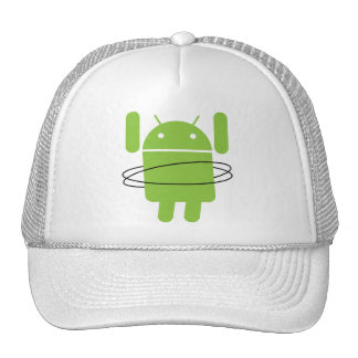 Android Hula Hoop Trucker Hat