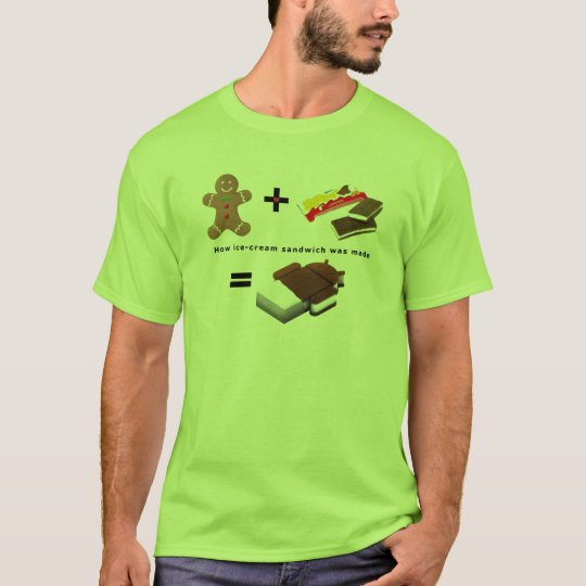 Android Ice Cream Sandwich T-Shirt