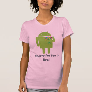Android in Love Shirt