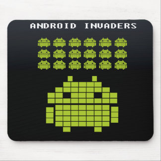 Android Invaders Mouse pad