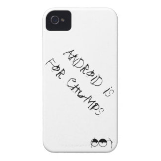 Android is For Chumps! iPhone 4 Cover