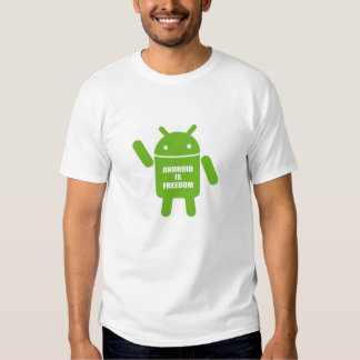 Android is freedom shirt