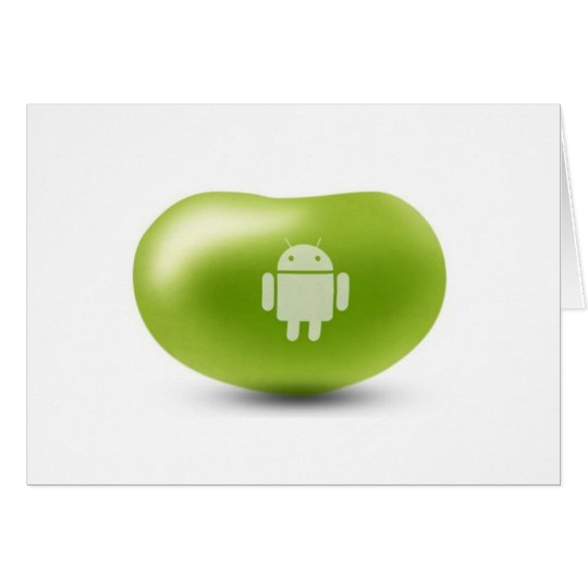 Android Jelly Bean Card