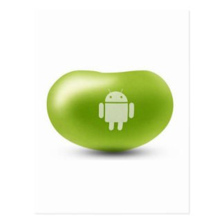 Android Jelly Bean Postcard