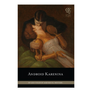 Android Karenina Cover Poster