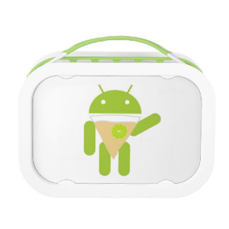 Android Key Lime Pie Yubo Lunch Box