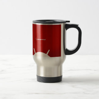 Android Kit Kat 15 Oz Stainless Steel Travel Mug