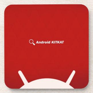 Android Kit Kat Beverage Coasters