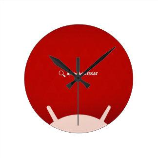 Android Kit Kat Round Clock