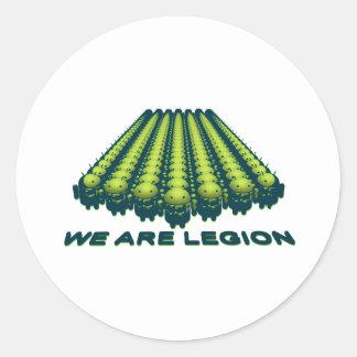 Android - Legion Camo Classic Round Sticker