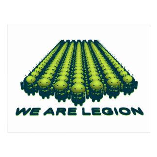 Android - Legion Camo Postcard