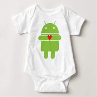 Android Love Baby Bodysuit