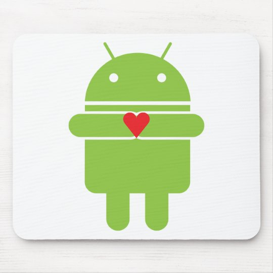Android Love Mouse Pad