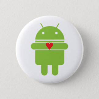 Android Love Pinback Button