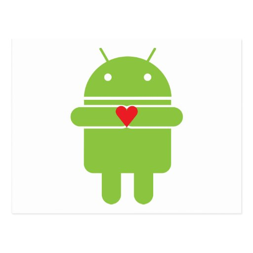 Android Love Post Cards
