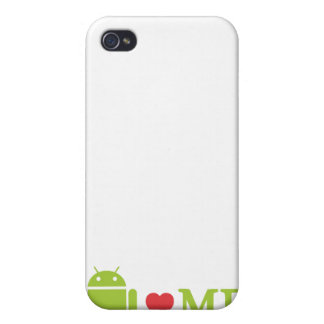 Android Loves Me iPhone 4/4S Cover