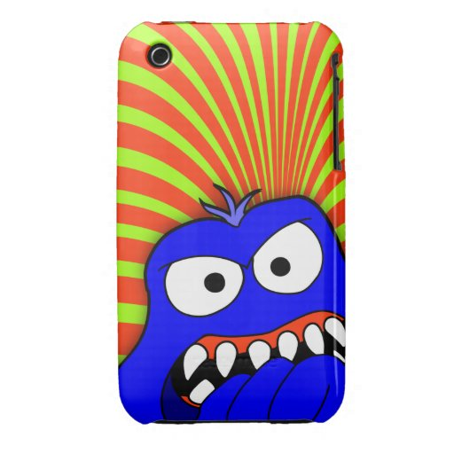 ANDROID monster case 18a iPhone 3 Case-Mate Cases