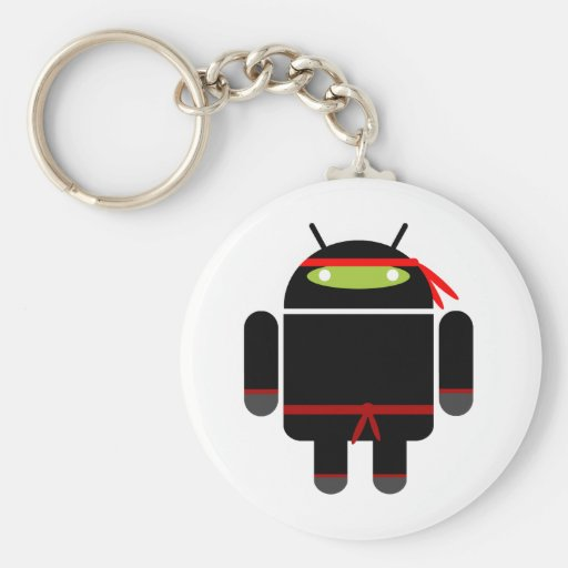 Android Ninja Key Chains