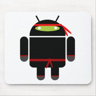 Android Ninja Mouse Pad