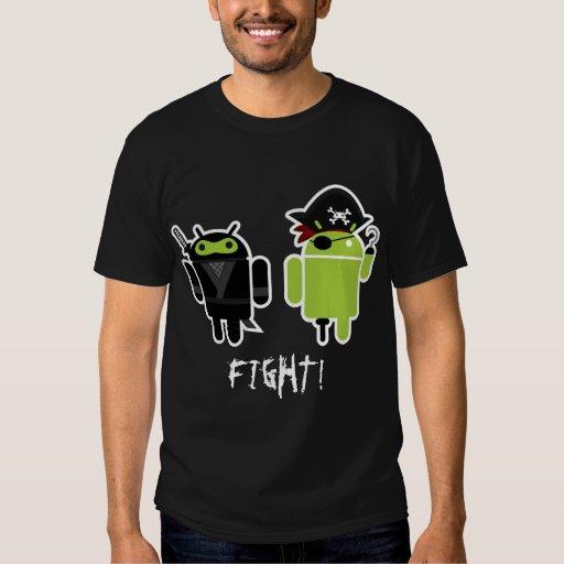 Android Ninja Pirate Fight! T Shirt