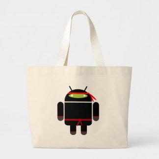 Android Ninja Tote Bag