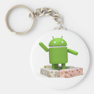 Android Nougat Keychain