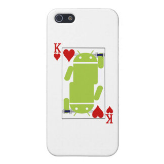 Android of Hearts iPhone 5 Case