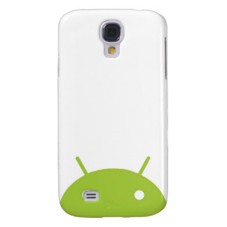 Android Peeking iPhone Case Galaxy S4 Cover