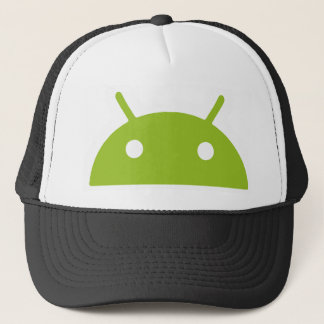 Android Peeking Trucker Hat