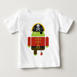 Android Pirate - Andy Baby T-Shirt