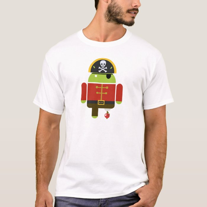 Android Pirate - Andy T-Shirt