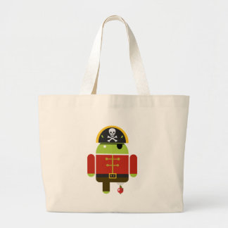 Android Pirate - Andy Tote Bags