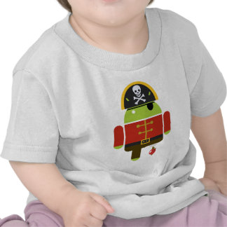 Android Pirate - Andy Tshirt