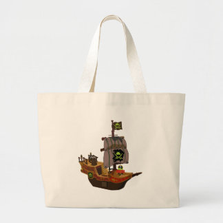Android Pirate on a Ship Bags