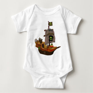 Android Pirate on a Ship Tee Shirt