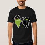 Android Pirate versus Ninja Shirt