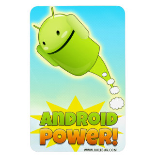 Android Power imán