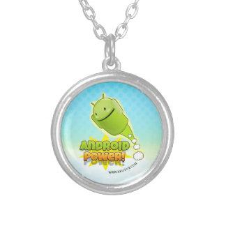 Android Power necklace round Joyeria