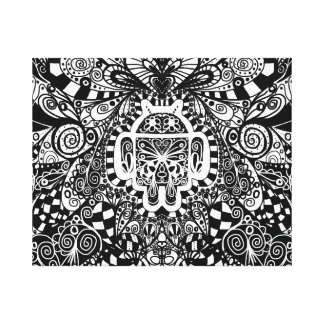 Android Power of the Doodle Gallery Wrapped Canvas
