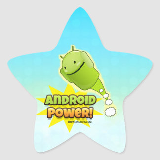 Android Power to sticker star