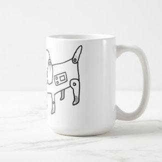 android puppy coffee mug