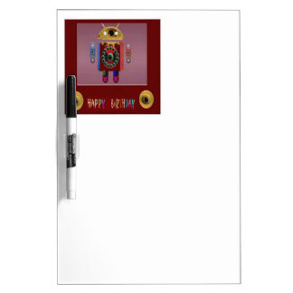 ANDROID Robot Alien Warrior Dry Erase Whiteboards